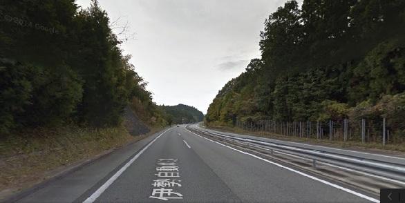 伊勢自動車道事故現場の状況2
