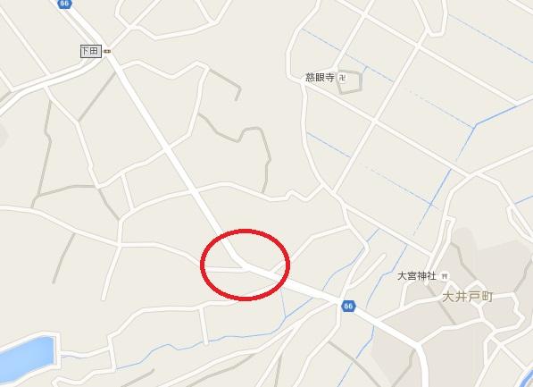 千葉市若葉区死亡事故現場 地図